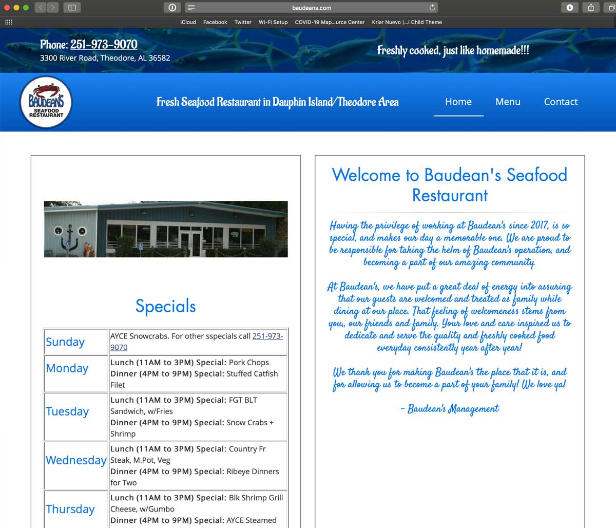 Baudean's Seafood Restaurant