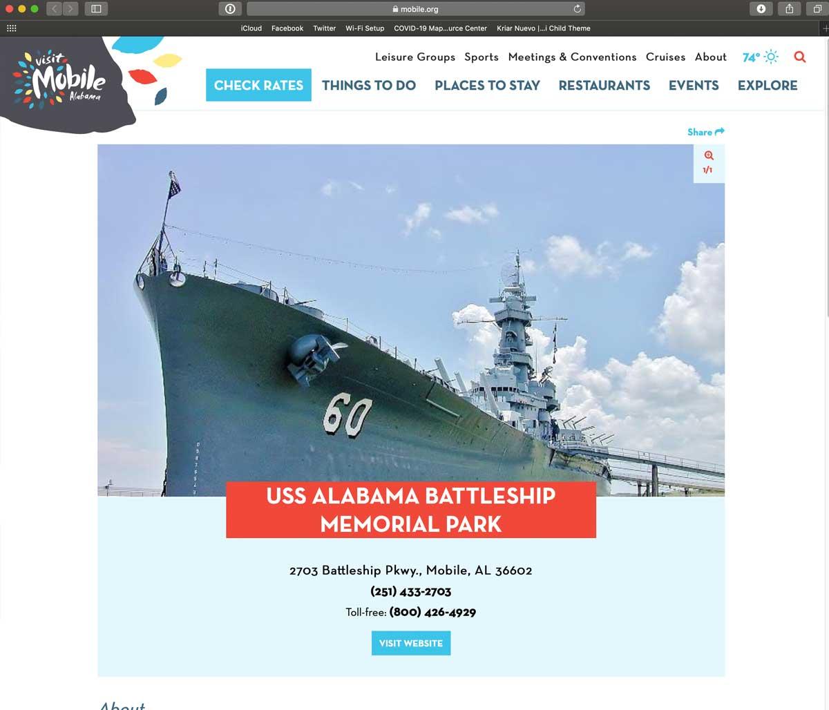 Mobile Battleship Park