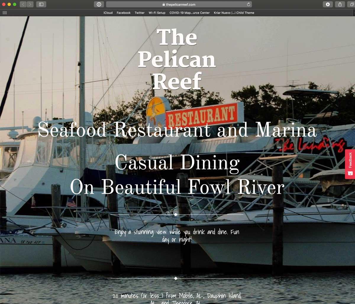 Pelican Reef Public Boat Launch