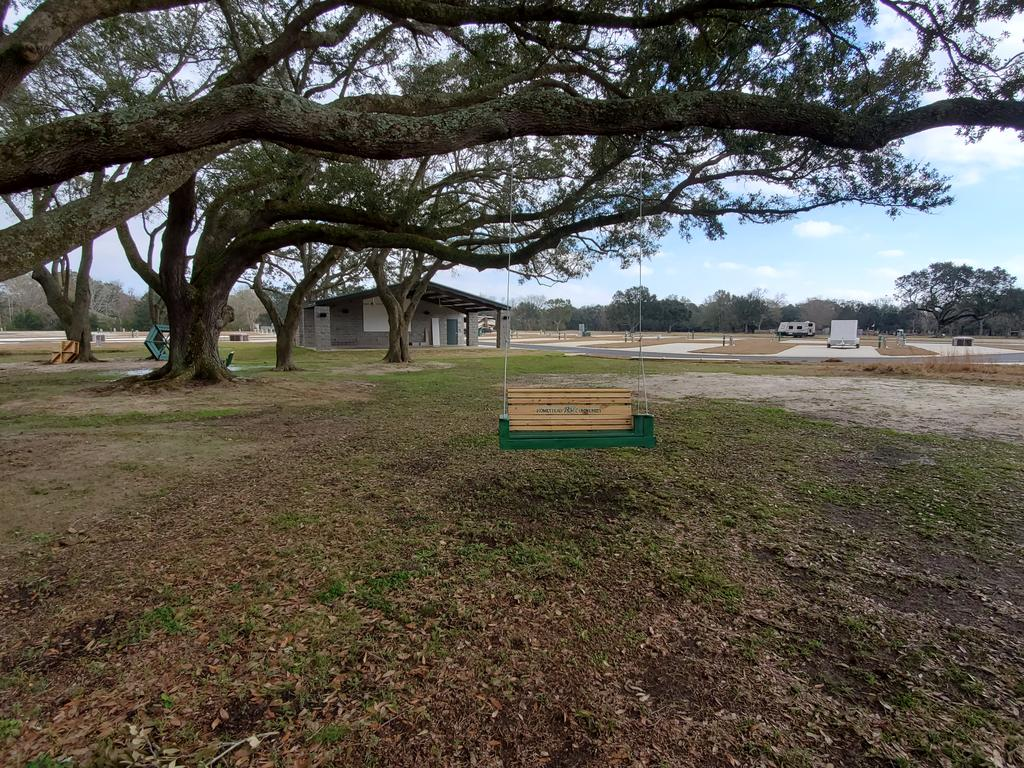 RV Park Relaxing Area