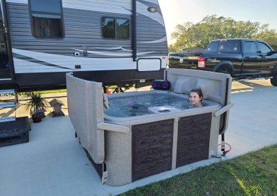 RV Hot Tub Mobile Alabama
